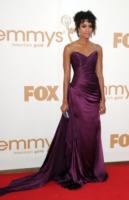 Annie Ilonzeh - Los Angeles - 18-09-2011 - Emmy 2011: gli arrivi sul red carpet