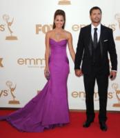 David Charvet, Brooke Burke - Los Angeles - 18-09-2011 - Emmy 2011: gli arrivi sul red carpet