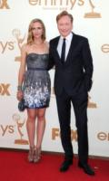 Liza Powel, Conan O'Brien - Los Angeles - 18-09-2011 - Emmy 2011: gli arrivi sul red carpet