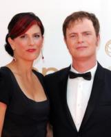Holiday Reinhorn, Rainn Wilson - Los Angeles - 18-09-2011 - Emmy 2011: gli arrivi sul red carpet