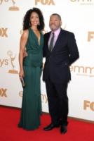Gina Torres, Laurence Fishburne - Los Angeles - 18-09-2011 - Emmy 2011: gli arrivi sul red carpet