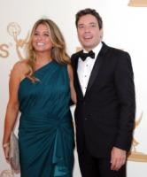 Nancy Juvonen, Jimmy Fallon - Los Angeles - 18-09-2011 - Emmy 2011: gli arrivi sul red carpet