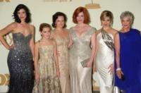 Kiernan Shipka, Christina Hendricks, Jessica Parè, Elisabeth Moss - Los Angeles - 18-09-2011 - Mad Men 10 anni dopo: cosa fanno oggi le donne di Don Draper