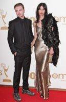 Jamie Bochert, Michael Pitt - Los Angeles - 18-09-2011 - Emmy 2011: gli arrivi sul red carpet