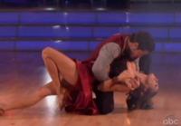 Val Chmerkovskiy, Elisabetta Canalis - 20-09-2011 - Elisabetta Canalis eliminata da Dancing with the stars