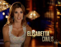 Val Chmerkovskiy, Elisabetta Canalis - 20-09-2011 - Elisabetta Canalis migliora a Dancing with the stars