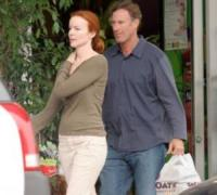Tom Mahoney, Marcia Cross - Santa Monica - 26-06-2006 - Marcia Cross casalinga felice