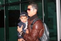 Cristiano Ronaldo jr., Cristiano Ronaldo - Los Angeles - 24-05-2011 - CR7 e il figlio Cristiano in versione modelli spopolano sul web