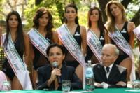 Enzo Mirigliani, Patrizia Mirigliani - Salsomaggiore - 25-09-2007 - E' morto Enzo Mirigliani, patron di Miss Italia