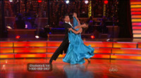 Elisabetta Canalis - Los Angeles - 26-09-2011 - Elisabetta Canalis migliora a Dancing with the stars