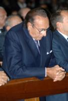 Pippo Baudo - Milano - 28-09-2011 - Pippo Baudo ricoverato per una sospetta ischemia