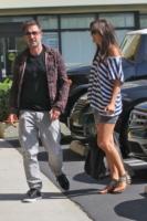 """Christina McLarty, David Arquette - Los Angeles - 30-09-2011 - David Arquette """"aperto"""" col suo nuovo amore, ma la ex moglie applaude per lui a Dwts"""
