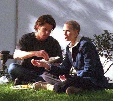 Dennis Molder, Julia Roberts - Beverly Hills - 28-04-2004 - Julia Roberts confessa le sue paure