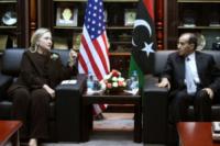 Mahmoud Jibril, Hillary Clinton - Tripoli - 19-10-2011 - Hillary Clinton: