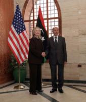 Mustafa Abdul Jalil, Hillary Clinton - Tripoli - 19-10-2011 - Hillary Clinton: