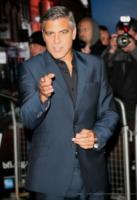 George Clooney - Londra - 20-10-2011 - George Clooney impegnato in una storia sull'arte trafugata dai nazisti