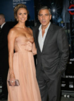 Stacy Keibler, George Clooney - Londra - 20-10-2011 - George Clooney e Stacy Keibler passano sempre le feste in Messico