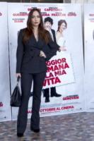 Chiara Francini - Roma - 21-10-2011 - Chiara Francini: look (maschile) che vince non si cambia!