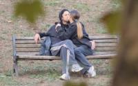 Ilaria Spada, Kim Rossi Stuart - Roma - 23-10-2011 - Ti amo ma non ti sposo: le coppie di fatto Vip