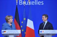 Angela Merkel, Nicolas Sarkozy - Bruxelles - 23-10-2011 - Angela Merkel è la persona dell'anno per Time