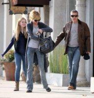 Stella Banderas, Antonio Banderas, Melanie Griffith - Los Angeles - 24-10-2011 - Melanie Griffith chiede il divorzio da Antonio Banderas