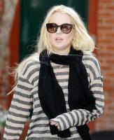 Lindsay Lohan - Los Angeles - 20-10-2011 - Lindsay Lohan perde l'aereo e rischia di non andare in tribunale