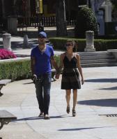 Eduardo Cruz, Eva Longoria - Madrid - 15-06-2011 - Eva Longoria non apprezza le voci su una relazione con Matt Barnes