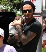 "Harper Beckham, David Beckham - Beverly Hills - 02-09-2011 - David Beckham parla dei figli a Men's Health: ""Sono competitivi come me e Victoria"""