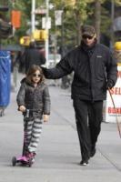Ava Jackman, Hugh Jackman - New York - 31-10-2011 - Hugh Jackman sempre più magro a Broadway