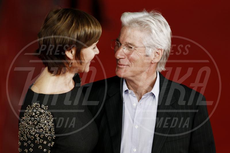 Richard Gere, Carey Lowell - Roma - 05-11-2011 - 2013: l'annus horribilis delle coppie più belle