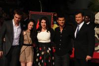 Taylor Lautn, Stephenie Meyer, Robert Pattinson, Kristen Stewart - Hollywood - 04-11-2011 - Stephenie Meyer non vuole più parlare di Twilight