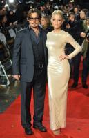 Amber Heard, Johnny Depp - Londra - 03-11-2011 - Johnny Depp e Kate Moss di nuovo insieme per Paul McCartney