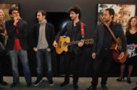 Claudio Santamaria - Torino - 13-11-2011 - Claudio Santamaria e' il menestrello della Mole Antonelliana