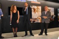Tiziana Martello, Ugo Nespolo, Piero Fassino - Torino - 13-11-2011 - Claudio Santamaria e' il menestrello della Mole Antonelliana