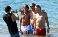 Steven Tyler, Joe Perry - Maui - 16-11-2011 - Joe Perry e Steven Tyler in vacanza insieme a Maui