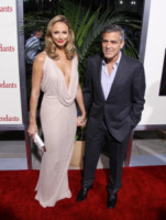 Stacy Keibler, George Clooney - Los Angeles - 15-11-2011 - George Clooney e Stacy Keibler passano sempre le feste in Messico