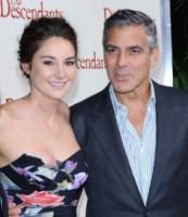Shailene Woodley, George Clooney - Los Angeles - 16-11-2011 - George Clooney impegnato in una storia sull'arte trafugata dai nazisti