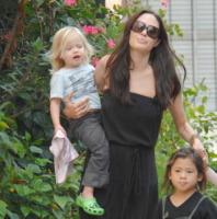 Shiloh Jolie Pitt, Pax, Zahara Jolie Pitt, Angelina Jolie - New Orleans - 09-10-2008 - Buon compleanno a Shiloh, la figlia dei Brangelina