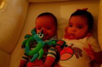 Moroccan Scott Cannon, Monroe Cannon - Los Angeles - 18-11-2011 - Harper Seven è il nome più bello per i nati del 2011