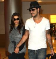 Eduardo Cruz, Eva Longoria - Miami - 19-11-2011 - Eva Longoria ed Eduardo Cruz volano da una costa all'altra in un solo weekend