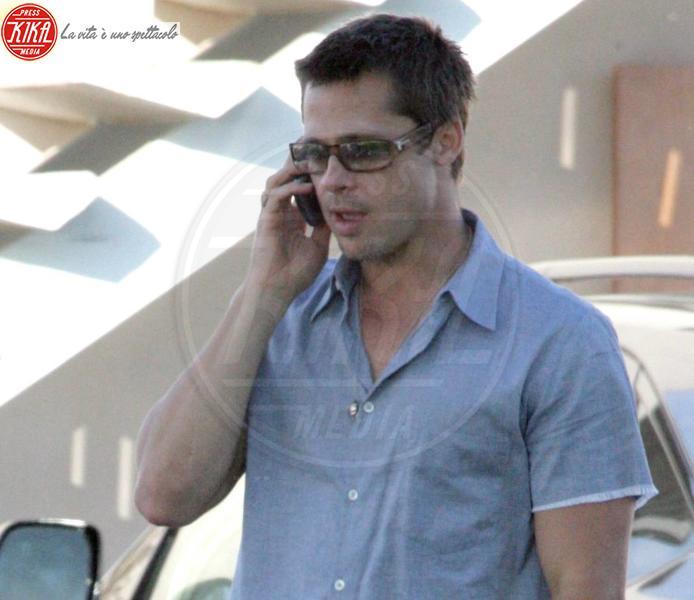 Brad Pitt - Santa Monica - 21-07-2006 - Brad Pitt sponsorizza un progetto per ricostruire New Orleans