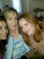 Felicity Huffman, Marcia Cross, Eva Longoria - 01-12-2011 - Eva Longoria torna in tv con Telenovela