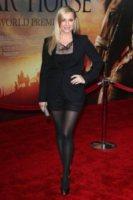 Jessica Capshaw - New York - 04-12-2011 - Jessica Capshaw incinta del terzo figlio