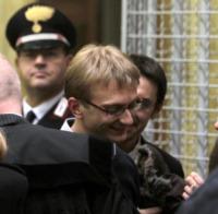 Alberto Stasi - Milano - 06-12-2011 - Garlasco, Alberto Stasi condannato in via definitiva