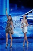 Belen Rodriguez, Elisabetta Canalis - Sanremo - 19-02-2011 - Le vallette degli ultimi anni al Festival di Sanremo
