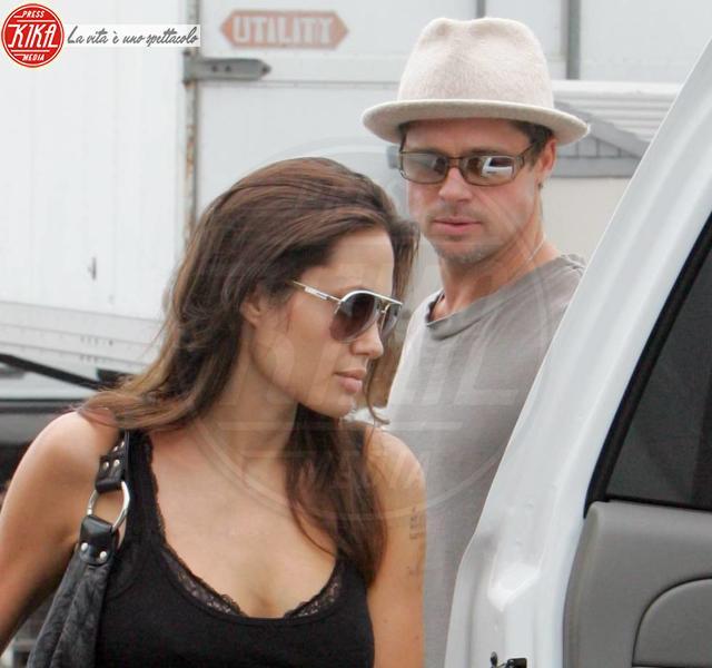 Maddox Jolie Pitt, Angelina Jolie, Brad Pitt - Malibu - 26-07-2006 - Cinema: Usa, Pitt e Jolie trasferiti a New Orleans