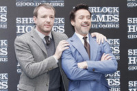 Guy Ritchie, Robert Downey Jr - Roma - 11-12-2011 - Sherlock Holmes vince al botteghino ma i sequel di Natale perdono terreno