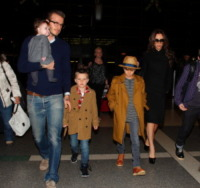 Br, Cruz Beckham, Romeo Beckham, David Beckham, Victoria Beckham - Los Angeles - Figli delle stelle, non ci fermeremo per niente al mondo