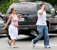 Jennifer Meyer, Tobey Maguire - Hollywood - 31-07-2006 - Spiderman è diventato padre