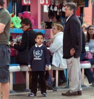 Elliot De Niro, Robert De Niro - Santa Monica - 07-04-2004 - Robert De Niro sei volte papa' a 68 anni